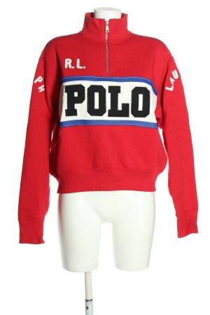 Polo Ralph Lauren Troyer Schriftzug gestickt Casual-Look
