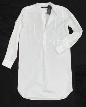 Polo Ralph Lauren Hemdblousejurk wit Katoen