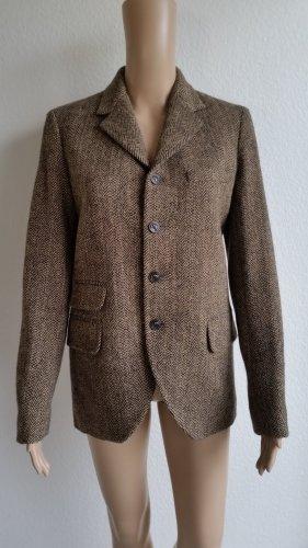Polo Ralph Lauren, Tweed-Sakko, Herringbone, braun, Wolle/ Alpaka, 36 (US 6), neu, € 600,-