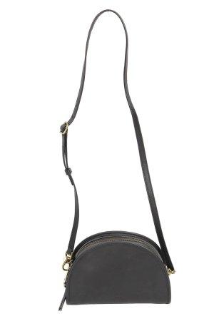 Polo Ralph Lauren Umhängetasche in Schwarz aus Leder