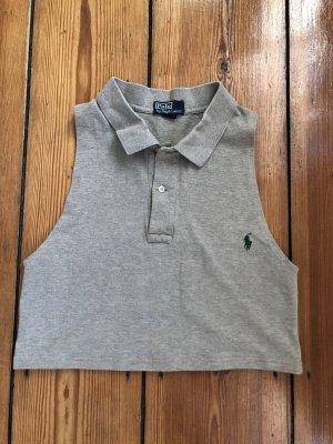 Polo Ralph Lauren Vintage PoloShirt T-Shirt Polo- Tanktop in Beige in Größe S