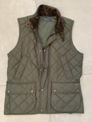 Polo Ralph Lauren Pikowana kamizelka khaki-ciemnobrązowy
