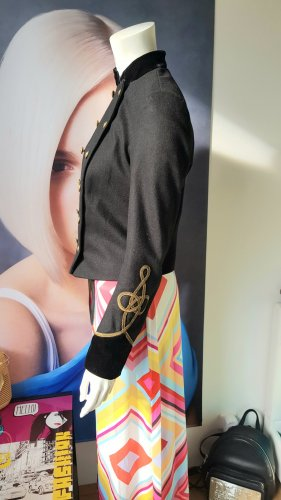polo ralph Lauren wolljacke Uniform style blogger maxikleid retro small