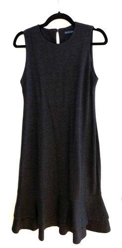 Polo Ralph Lauren Sukienka z falbanami antracyt Wełna