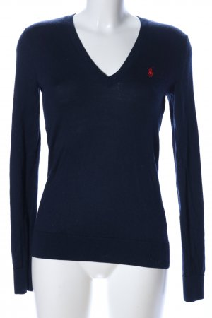 Polo Ralph Lauren Wollpullover blau Casual-Look