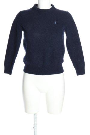 Polo Ralph Lauren Wełniany sweter niebieski W stylu casual
