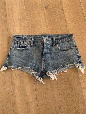 Polo Jeans Short en jean bleu azur