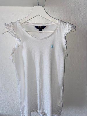 Polo Ralph Lauren Camiseta tipo polo blanco Algodón