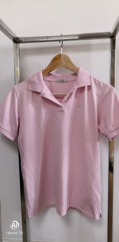 Joop! Camiseta tipo polo rosa claro