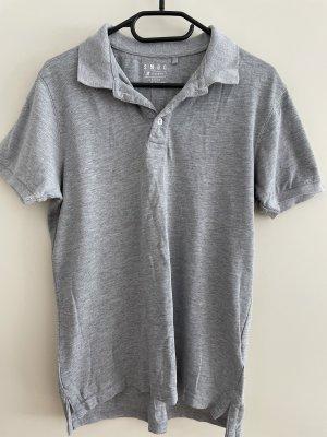 SMOG Polo Shirt silver-colored