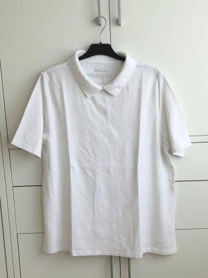 Ulla Popken Polo shirt wit