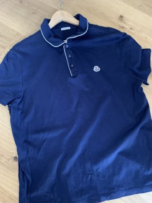 Moncler Polo Top dark blue