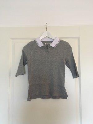 Polo-Shirt casual in grau/weiß von BraveSoul