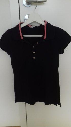 Polo-Shirt in dunkelblau