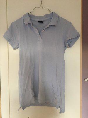 Polo Shirt in hellblau