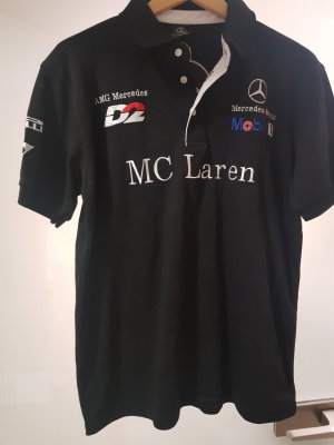 Mercedes Benz Collection Polo nero Cotone