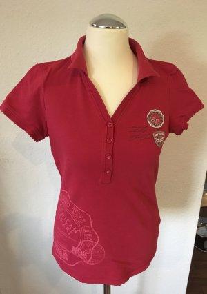 Polo-Shirt mit Knopfleise