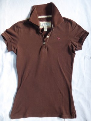 Abercrombie & Fitch Polo marrone