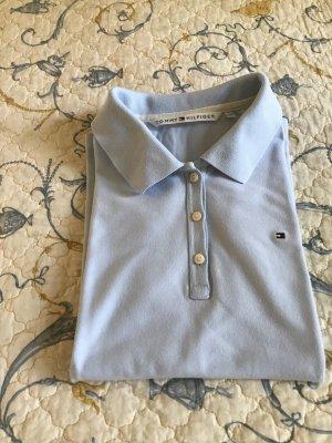 Polo-Shirt Tommy Hilfiger Gr. L (40) hellblau
