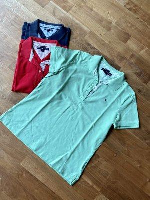 Polo-Shirt , Tommy Hilfiger , gr L/G Pistaziegrün