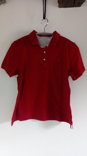 Polo Shirt Tommy Hilfiger rot