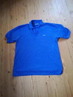 Lacoste Camiseta tipo polo azul Algodón