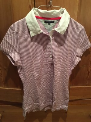 Tommy Hilfiger Golf Camiseta tipo polo blanco-rosa