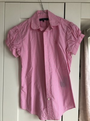 Polo Sport Bluse weiß rosa kariert