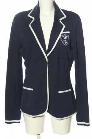 Polo sylt Boyfriend Blazer blue-white casual look