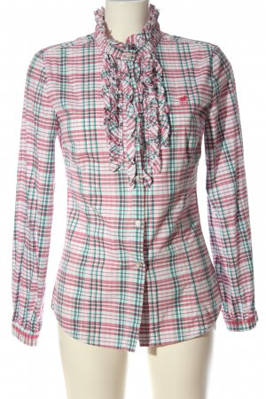 Polo sylt Shirt Blouse allover print casual look