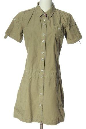 Polo sylt Shirtwaist dress khaki casual look