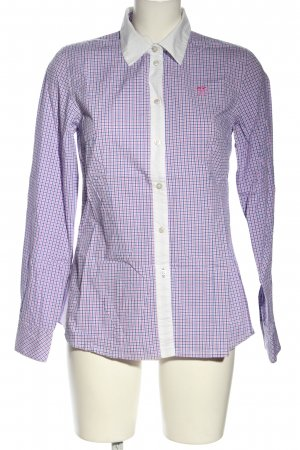 Polo sylt Karobluse Karomuster Casual-Look