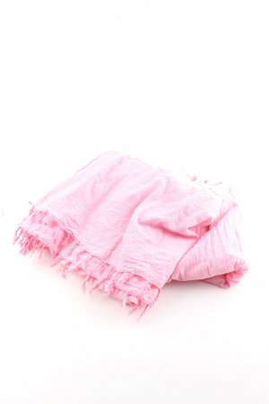 Polo sylt Krinkelschal pink Mustermix Casual-Look
