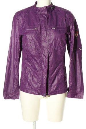 Polo sylt Short Jacket lilac casual look