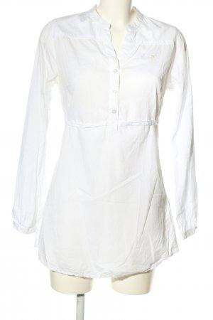 Polo sylt Long Sleeve Blouse white business style