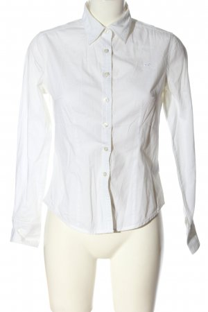 Polo sylt Long Sleeve Shirt white business style