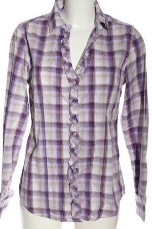 Polo sylt Long Sleeve Shirt allover print casual look