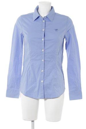 Polo sylt Langarmhemd kornblumenblau Casual-Look