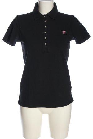 Polo sylt Polo Shirt black casual look