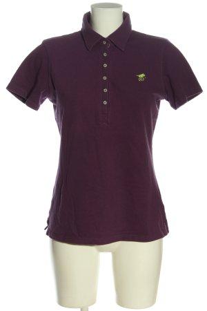 Polo sylt Polo Shirt lilac casual look