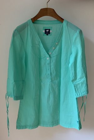 Polo sylt Tunic Blouse mint-turquoise