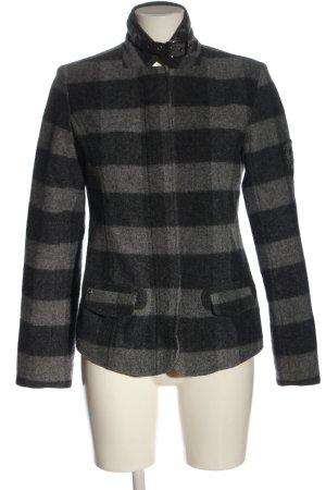 Polo sylt Chaqueta de entretiempo negro-gris claro look casual