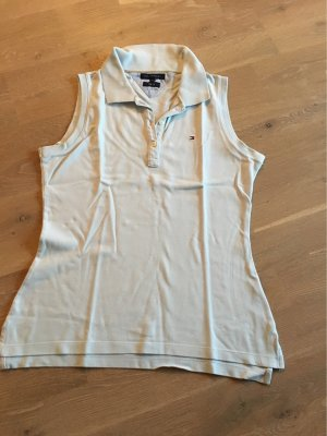 Tommy Hilfiger Polo Top baby blue cotton