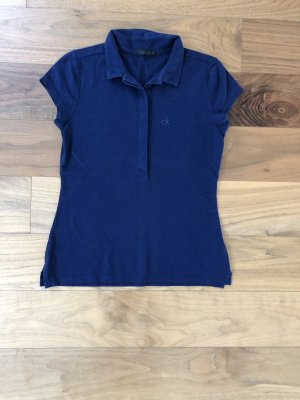Calvin Klein Polo Top dark blue
