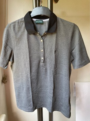 Golfino Polo Shirt black-grey