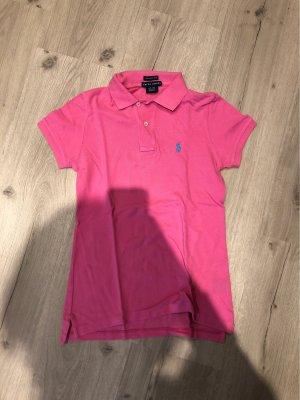 Ralph Lauren Camiseta tipo polo rosa