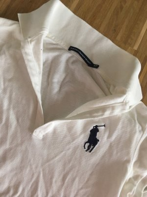 Ralph Lauren Sport Top Polo bianco-blu
