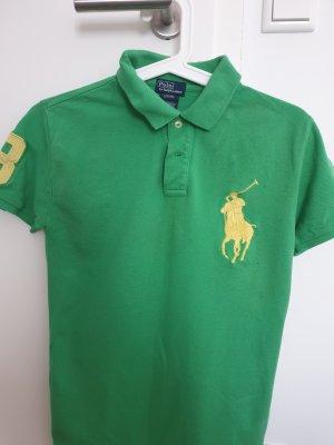 Ralph Lauren Camicia a maniche corte verde-giallo neon Cotone