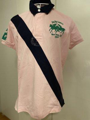 Lauren by Ralph Lauren Camiseta tipo polo rosa Algodón