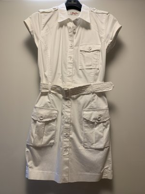 Guess Jeans Polo Dress white